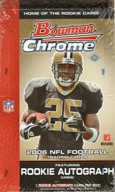 2006 Bowman Chrome Football (Hobby Box)