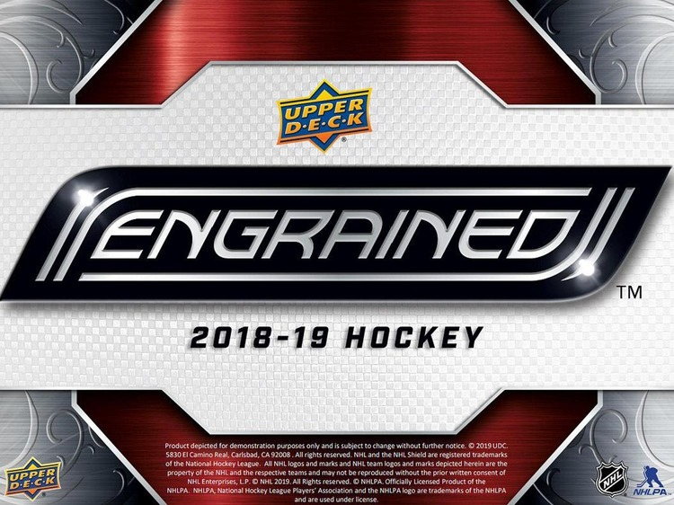 2018-19 Upper Deck Engrained (Release cirka 24 april)
