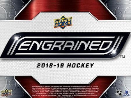 2018-19 Upper Deck Engrained (Release cirka 24 april)