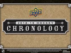 2018-19 Upper Deck Chronology
