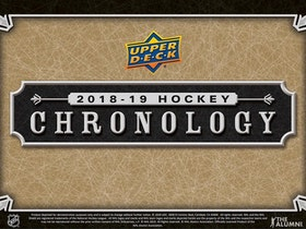 2018-19 Upper Deck Chronology