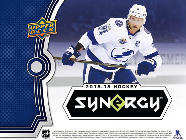 2018-19 Upper Deck Synergy *FÖRBOKNING; RELEASE 27FEB*