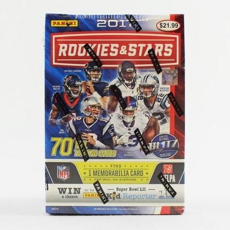 2017 Panini Rookies & Stars Football (7-Pack Box)