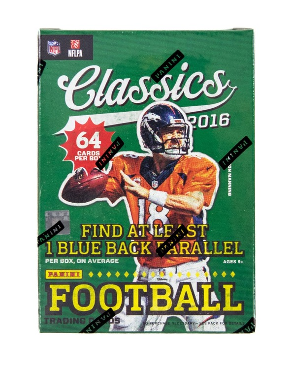 2016 Panini Classics Football (8-Pack Box)