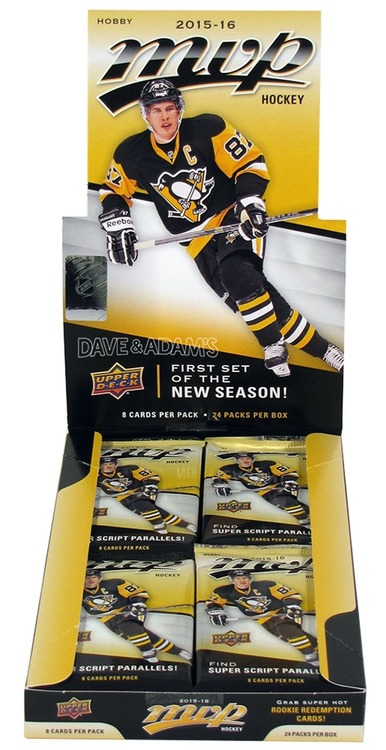 2015-16 Upper Deck MVP (Hobby Pack)