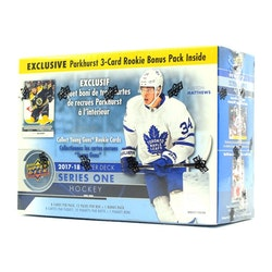 2017-18 Upper Deck Series 1 (Mega Box)