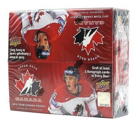 2013-14 Upper Deck Team Canada