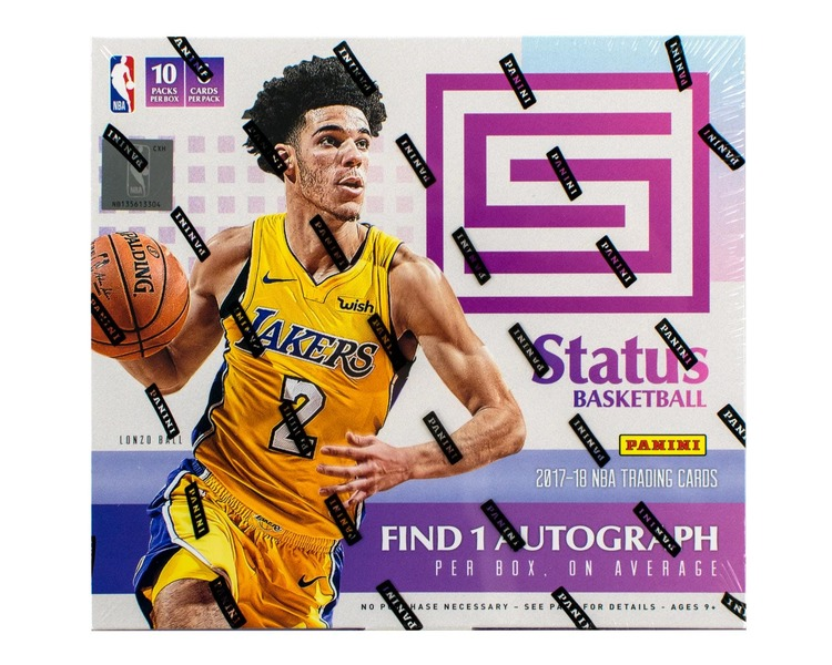2017-18 Panini Status Basketball (Hobby Box)