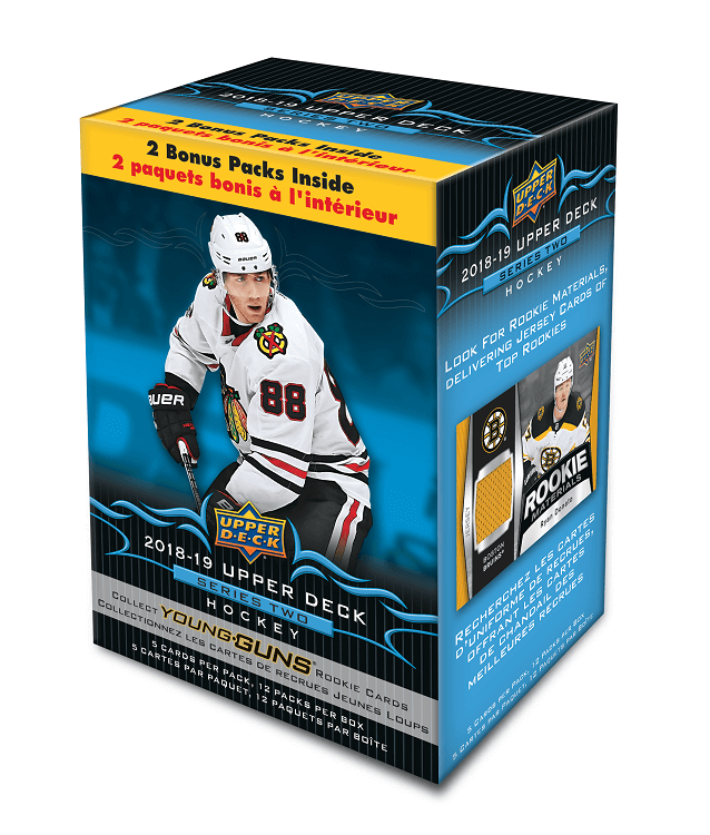 2018-19 Upper Deck Series 2 (Blaster)