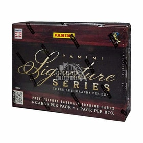 2012 Panini Signature Series Baseball (Hobby Box)
