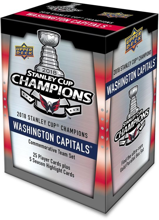 2018-19 Upper Deck Washington Capitals Stanley Cup Champs Commemorative 30-Card Set