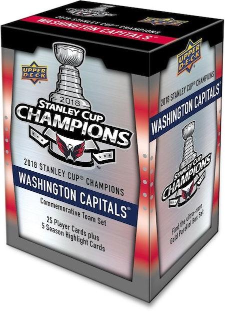 2018-19 Upper Deck Washington Capitals Stanley Cup Champs Commemorative 30-Card Set