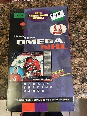 1998-99 Pacific Omega (RARE BOX)