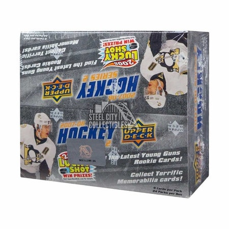 2007-08 Upper Deck Series 2 (24ct Retail Box)
