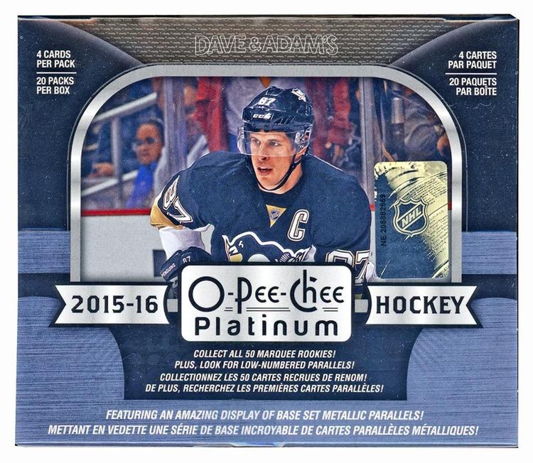 2015-16 O-Pee-Chee Platinum (Hobby Box)