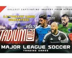 2017 Topps Stadium Club MLS (Hobby Box)