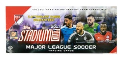 2017 Topps Stadium Club MLS (Hobby Box)