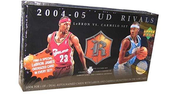 2004-2005 UD Rivals LeBron VS. Carmelo Set