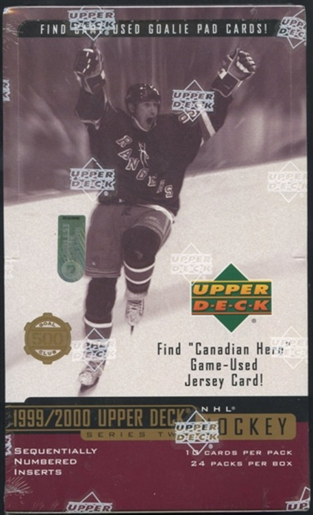 1999-00 Upper Deck Series 2 (Retail Box)