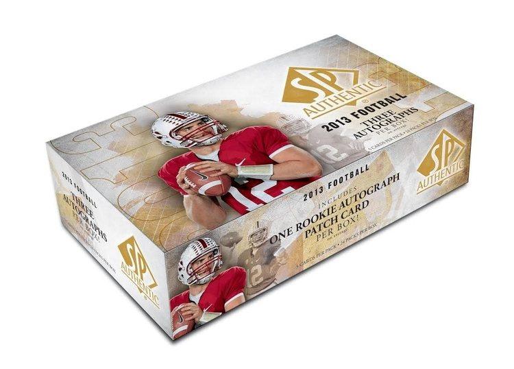 2013 SP Authentic Football (Hobby Box)