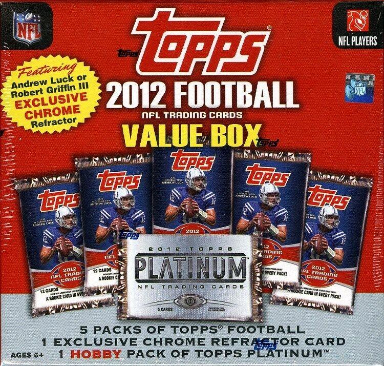 2012 Topps Football (Value Box)