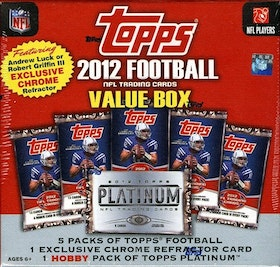 2012 Topps Football (Value Box)