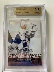 2008-09 LUKE SCHENN UPPER DECK UD YOUNG GUNS ROOKIE CARD #248 BGS GRADED 9.5