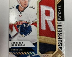 Supreme Patches Jonathan Huberdeau 14/15 Sp Game Used 2018/19