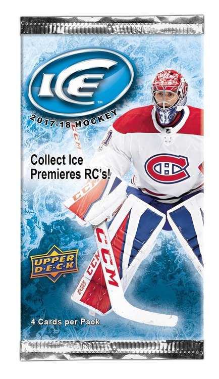 2017-18 Upper Deck Ice (Löspaket)