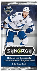 2018-19 Upper Deck Synergy (Löspaket)