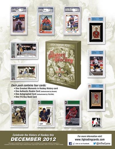 2012-13 ITG History of Hockey