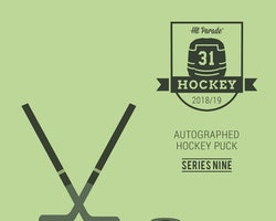 2018-19 Hit Parade Autographed Hockey Puck (Series 9)