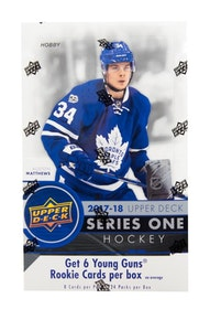 2017-18 Upper Deck Series 1 (Hobby Box)