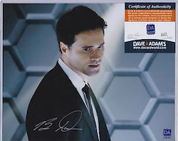 Brett Dalton Autographed 8x10 Agents of Shield Photo