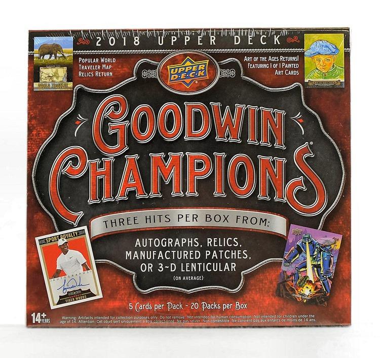 2018 Upper Deck Goodwin Champions (Hobby Box)