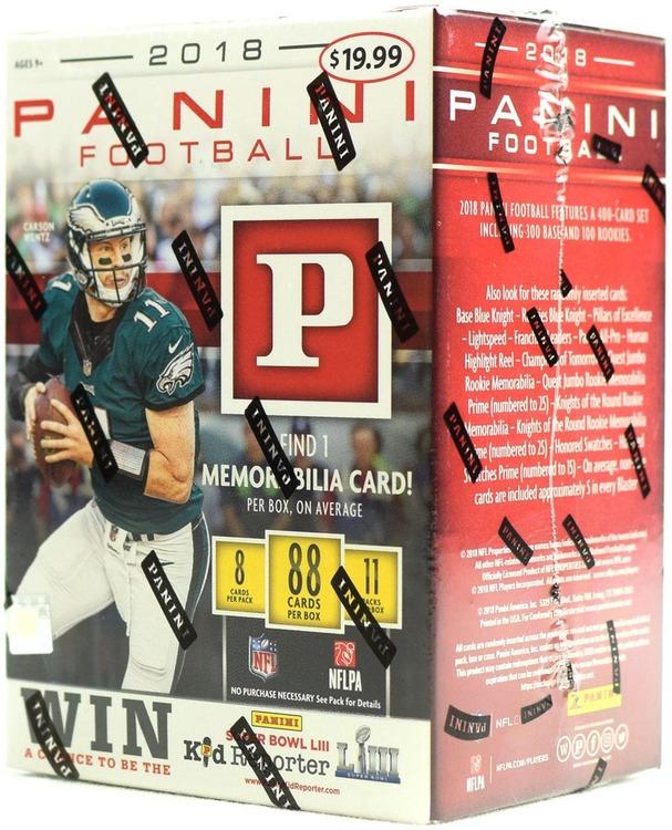 2018 Panini Football (11-Pack Box)