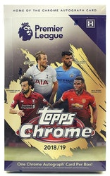 2018-19 Topps Chrome Premier League (Hobby Box)