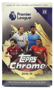 2018-19 Topps Chrome Premier League (Hobby Box)