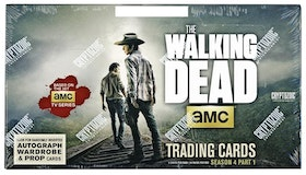The Walking Dead: Season 4 (Part 1 Trading Cards Box)