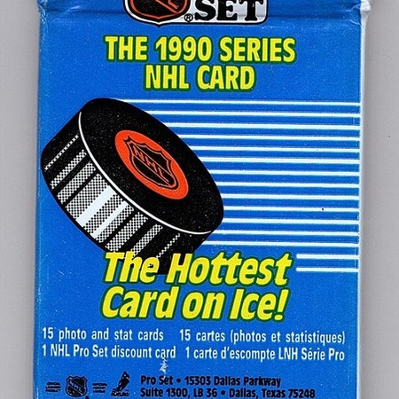 1990-91 Pro Set (Series 1) (Löspaket)