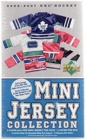 2006-07 Upper Deck Mini Jersey Collection (Blaster)