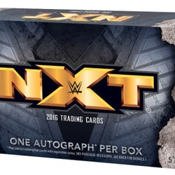2016 Topps WWE NXT Mini Box