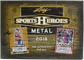2018 Leaf Metal Sports Heroes (Hobby Box)