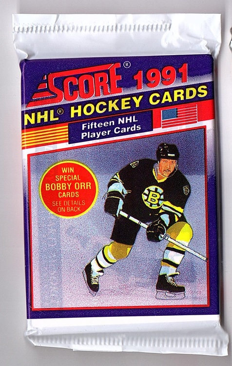 1991-92 Score American (Löspaket)