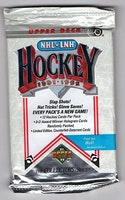 1991-92 Upper Deck High Series (Löspaket)