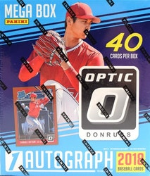 2018 Panini Donruss Optic Baseball (Mega 40ct Box)