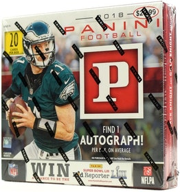 2018 Panini Football (Ultra Box)