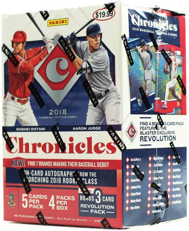 2018 Panini Chronicles Baseball (4-Pack Blaster Box)
