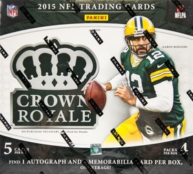 2015 Panini Crown Royale Football (4-Pack Box)