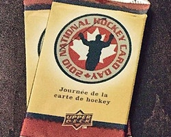 2009-10 Upper Deck National Hockey Card Day Pack